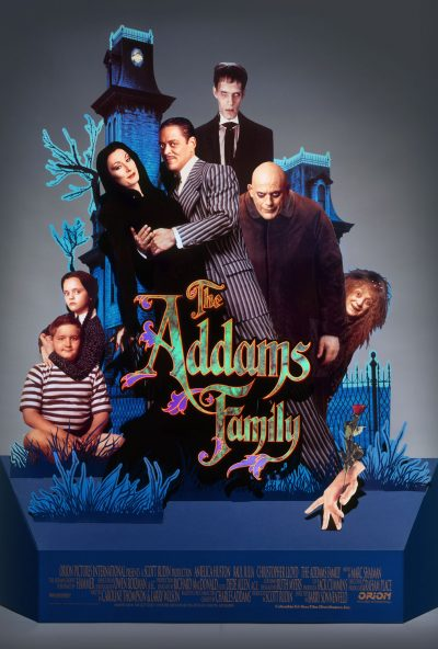 Addams-Family-Standee